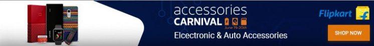 Flipkart Accessories Carnival 19 – 20th June – Get 60% Off +20% Extra Cashback