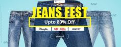 Jeans Fest Upto 80% Off on Jeans – Shopclues