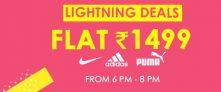Get Flat Rs 1499 on Big Shoe Brands – Jabong [6pm – 8Pm]