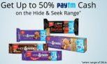 Paytm Hide and seek offer – Get Upto 50% cashback