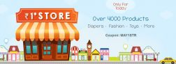 Firstcry.com – Rs 1 Store Get Over 4000 Products