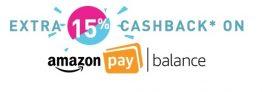 Amazon Pay Balance – Get 25% cashback Upto Rs 250