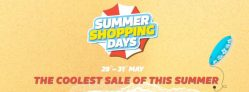 Flipkart Summer Shopping Days – Get Upto 80% Off