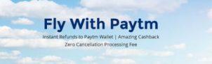 Paytm – Get Flat Rs 2000 Cashback on Roundtrip Flights