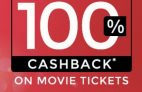 Paytm – Get 100% Cashback on Movie Tickets