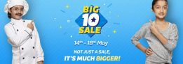 Flipkart Big10 Sale – Get Stunning Discounts + 10% via HDFC Credit Card