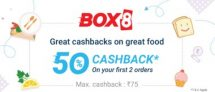 Box PhonePe – Get 50% Cashback On Order