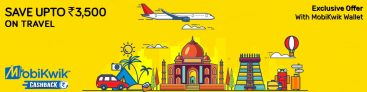 Yatra Mobikwik Offer – Get Up to Rs 800 Off on Transaction