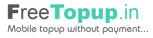 (Still Live) FreeTopUp Loot – Get Rs.20 On Signup + Rs.5 Per Refer
