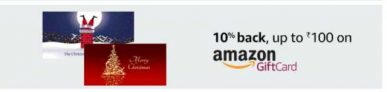 Amazon Christmas Offer – Get 10% Cashback On Gift Card