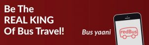 Redbus – Get 20% OFF Upto Rs. 150 On Bus Booking