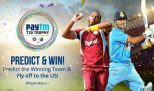 Paytm India & West Indies Contest – Predit & Win