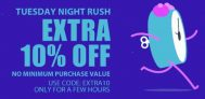 Jabong Tuesday Night Rush – Upto 60% off + Extra 20% off