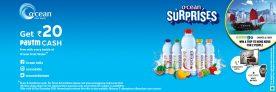 Ocean FruitPaytm Offer – Get Rs.20 Paytm Cash On Ocean Products