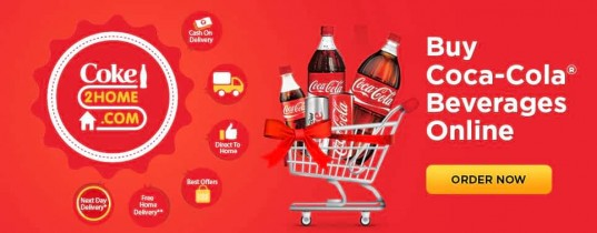 Coke2Home Offer – Get Rs.49 off on Minimum Purchase of Rs.99 or More