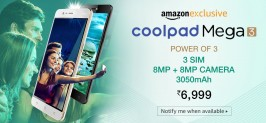 Coolpad Mega 3 – Buy Online, Full Details, Price, Specifications