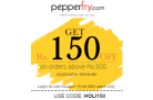 Pepperfry – Get Rs.150 Off On Orders Above Rs.499 And Above On Bormioli Rocco Products